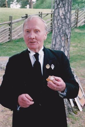 Yngve på Sekelskiftesstämman på Torekällberget 1994. Foto Kerstin Lanbeck Vallén