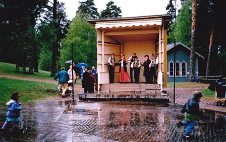 Det regnade på Sekelskiftesstämman 1996
